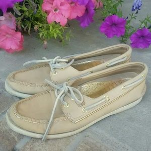 Sperry top slider leather shoes